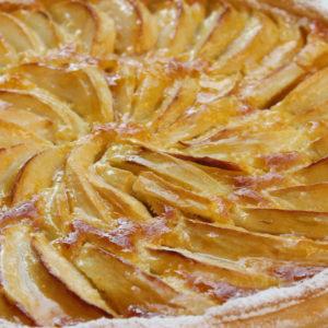 Rezept Apfelkuchen mit Honig und Mascarpone